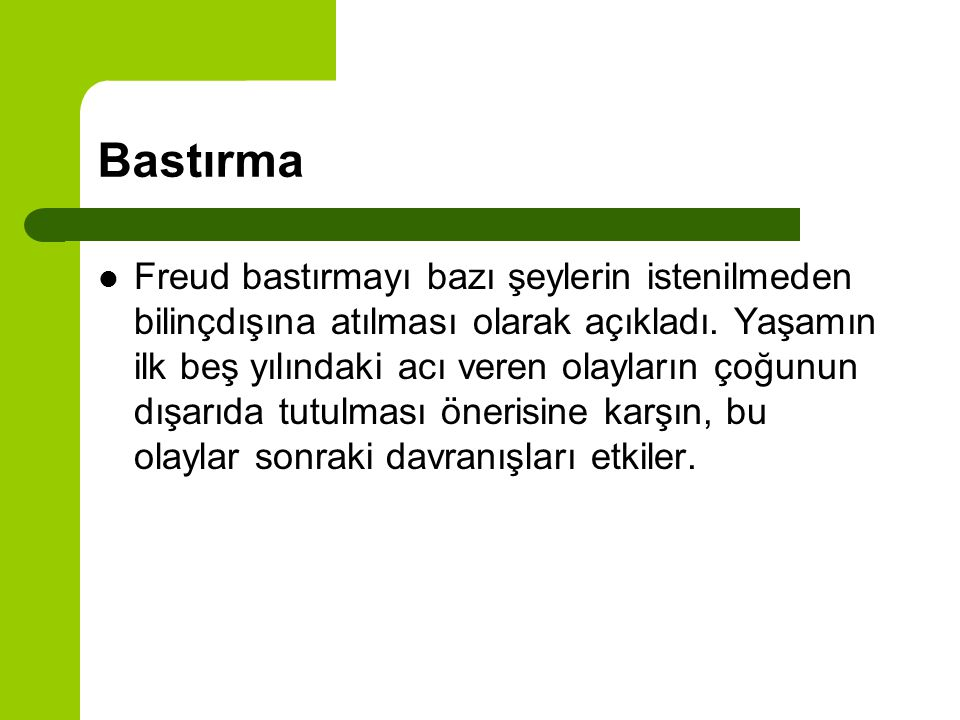 Bastırma