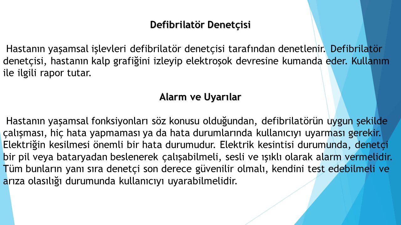 Defibrilatör Denetçisi