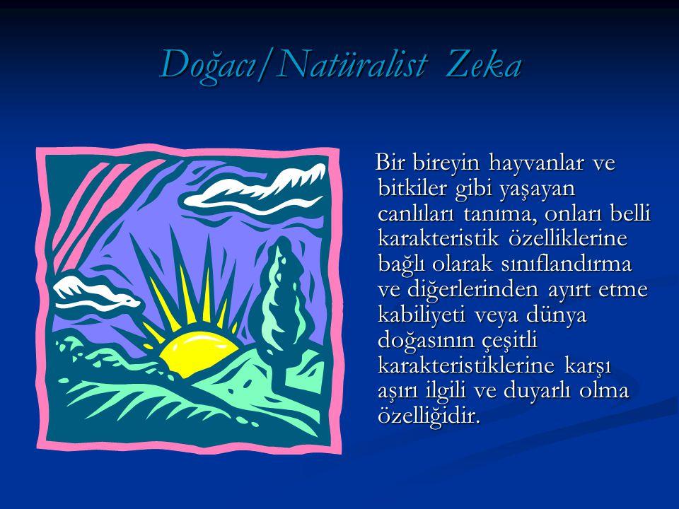 Doğacı/Natüralist Zeka