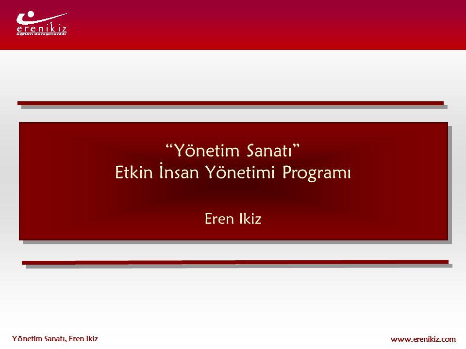 Etkin İnsan Yönetimi Programı