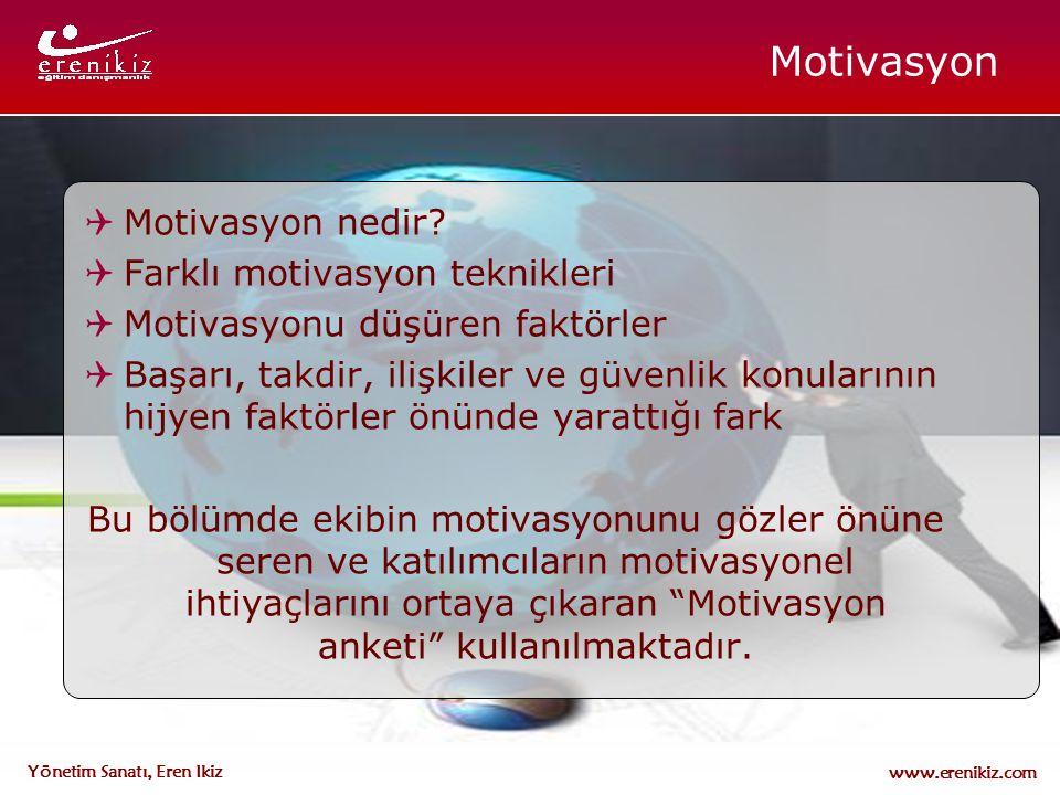 Motivasyon Motivasyon nedir Farklı motivasyon teknikleri
