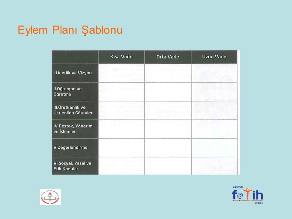 Eylem Planı Şablonu