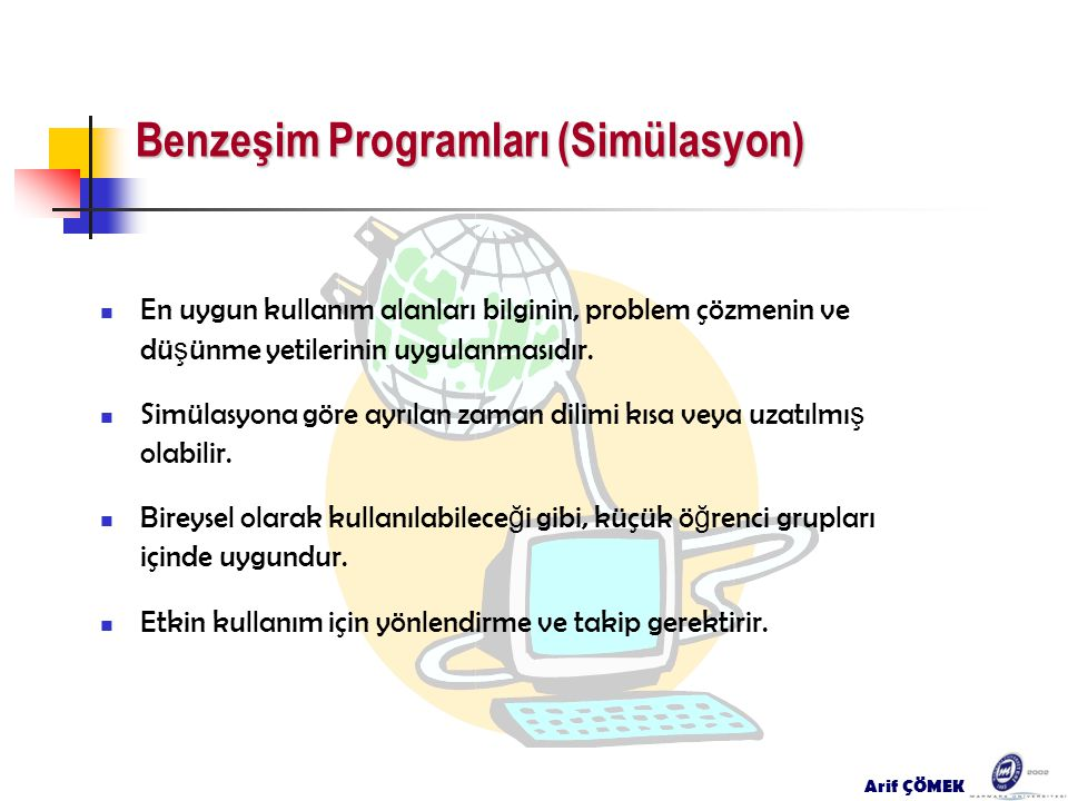 Benzeşim Programları (Simülasyon)