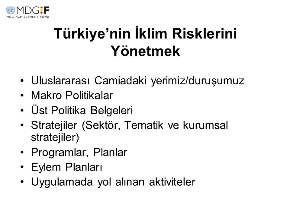 Türkiye'nin İklim Risklerini Yönetmek