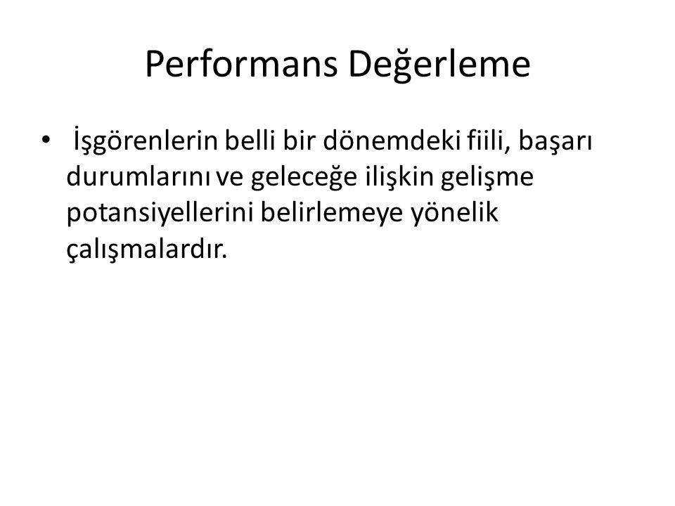 Performans Değerleme