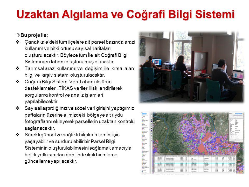 Uzaktan Algılama ve Coğrafi Bilgi Sistemi