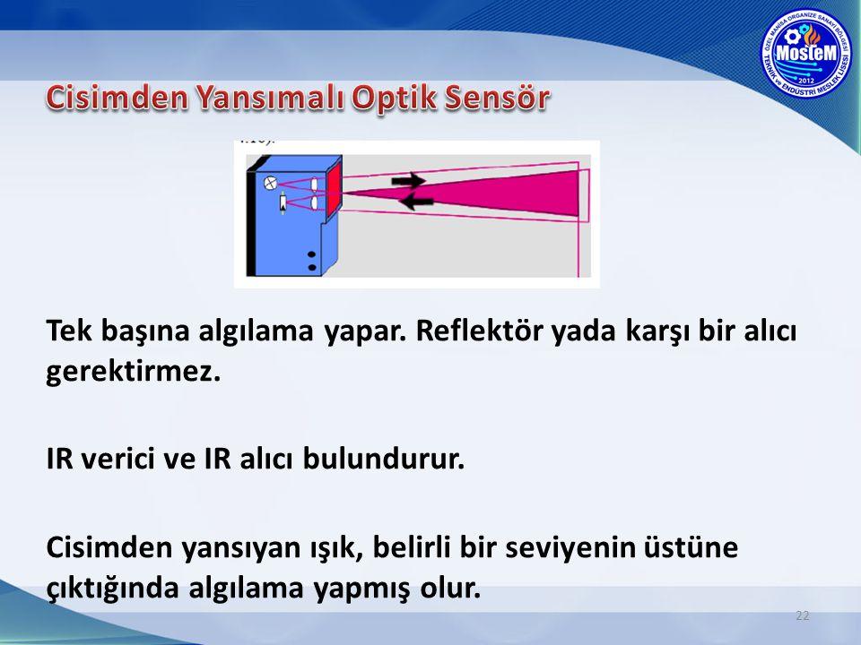 Cisimden Yansımalı Optik Sensör
