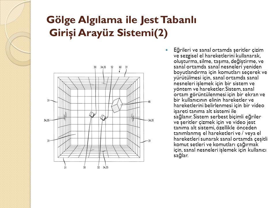 Gölge Algılama ile Jest Tabanlı Girişi Arayüz Sistemi(2)