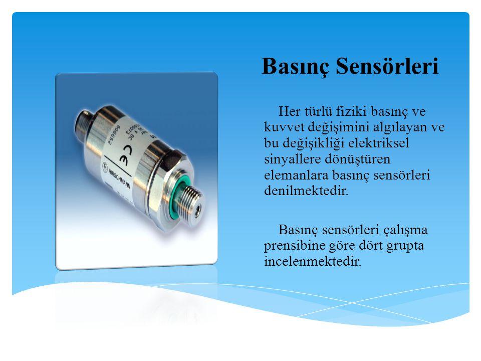 Basınç Sensörleri