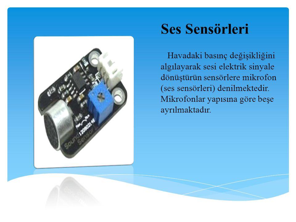 Ses Sensörleri