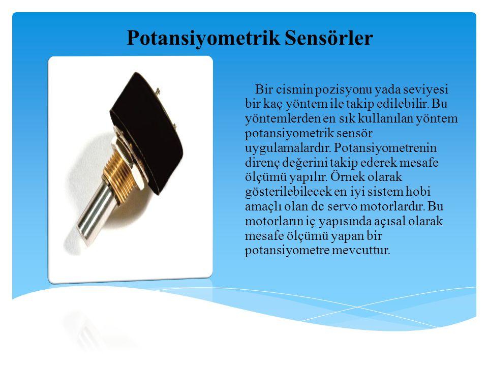Potansiyometrik Sensörler