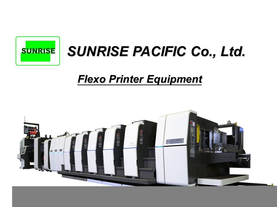 Flexo Printer Equipment