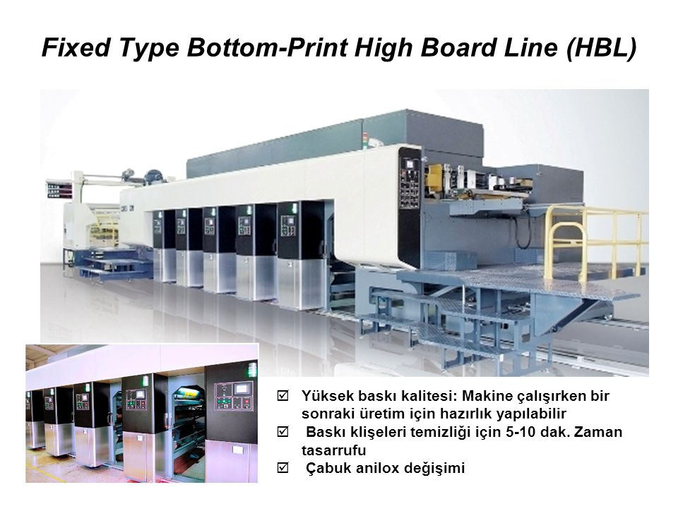 Fixed Type Bottom-Print High Board Line (HBL)