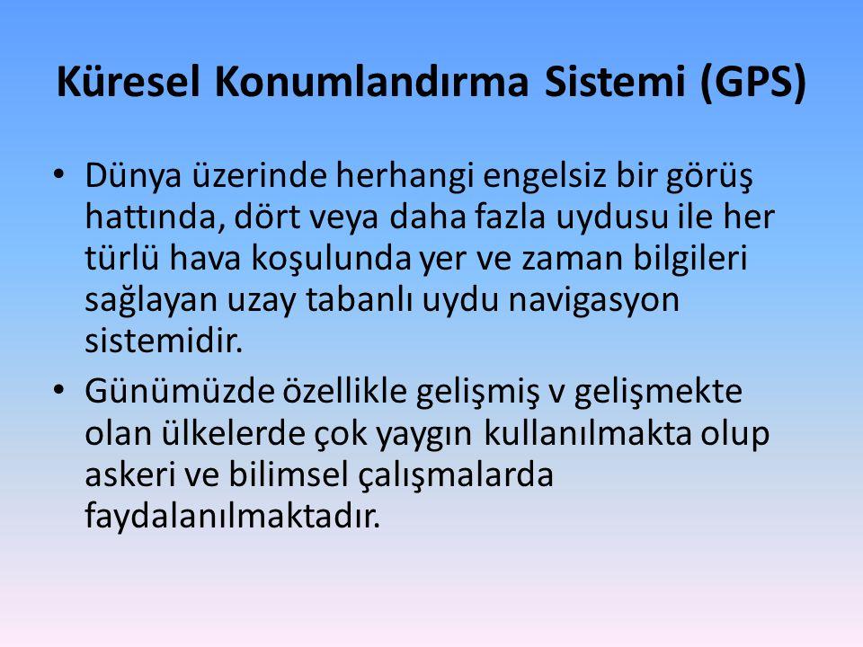 Küresel Konumlandırma Sistemi (GPS)