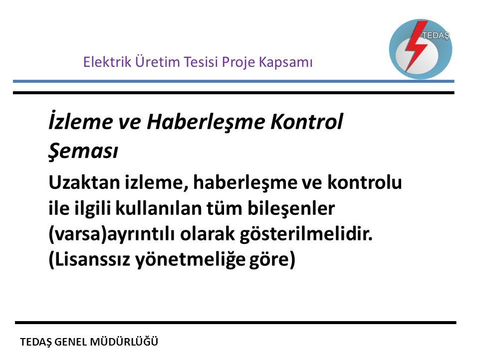 Elektrik Üretim Tesisi Proje Kapsamı