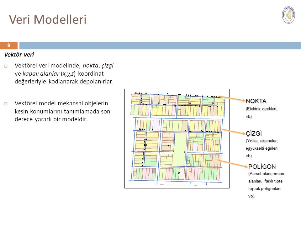 Veri Modelleri Vektör veri