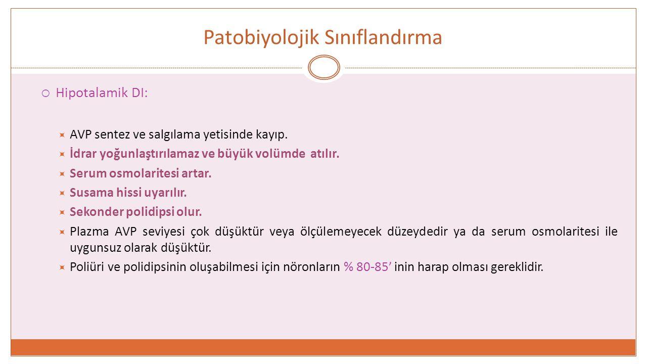 Patobiyolojik Sınıflandırma