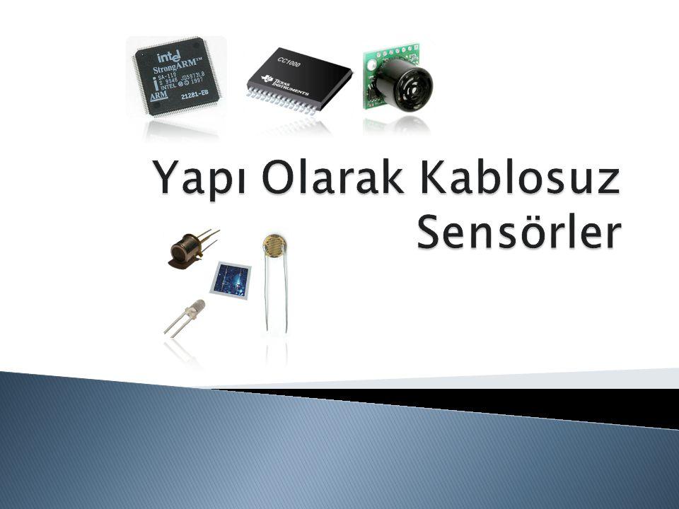 Yapı Olarak Kablosuz Sensörler