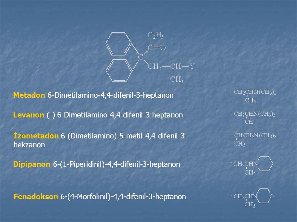 Metadon 6-Dimetilamino-4,4-difenil-3-heptanon