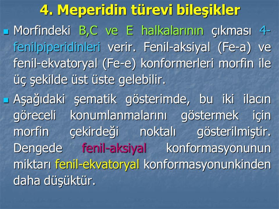 4. Meperidin türevi bileşikler