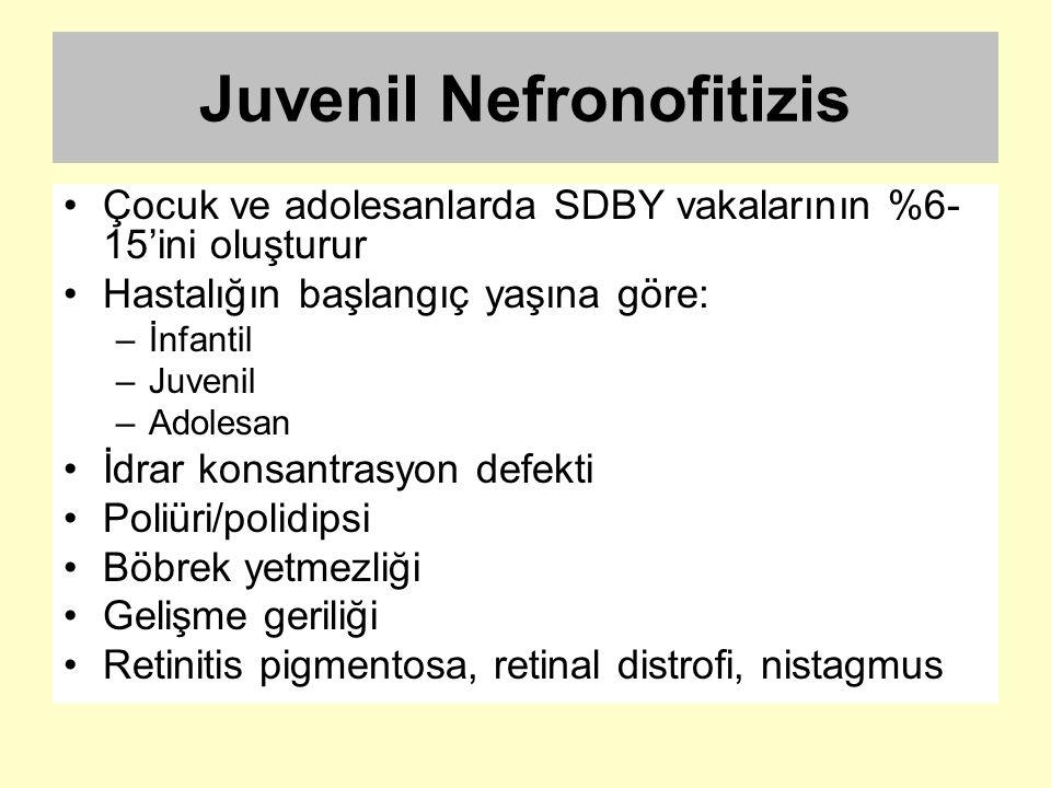 Juvenil Nefronofitizis