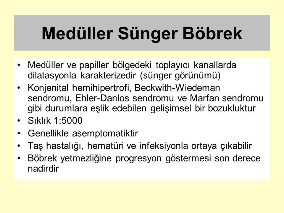 Medüller Sünger Böbrek