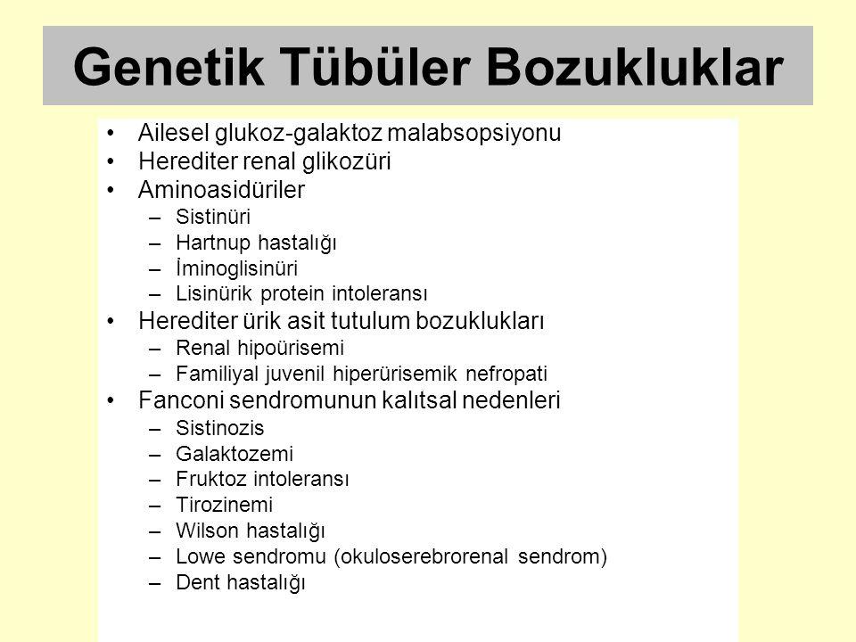 Genetik Tübüler Bozukluklar