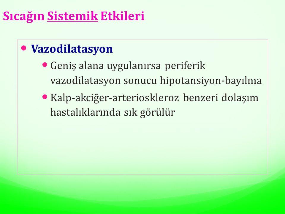 Sıcağın Sistemik Etkileri