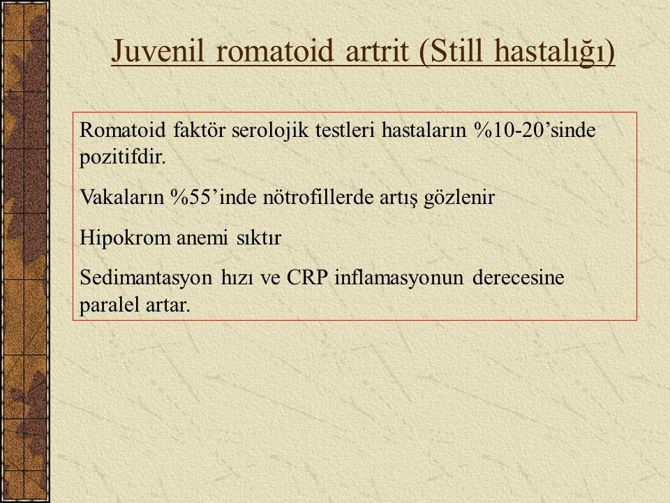 Juvenil romatoid artrit (Still hastalığı)