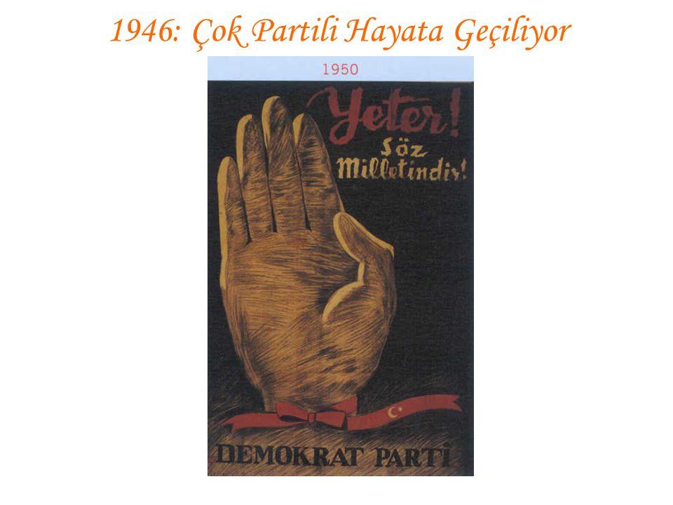 1946: Çok Partili Hayata Geçiliyor