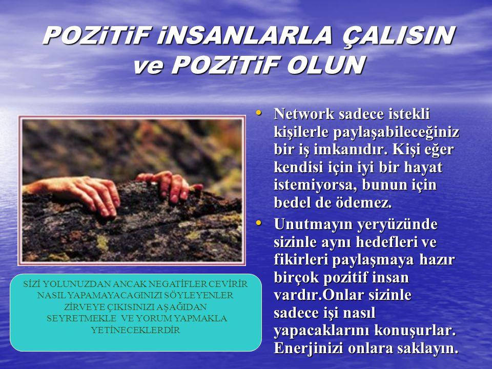 POZiTiF iNSANLARLA ÇALISIN ve POZiTiF OLUN