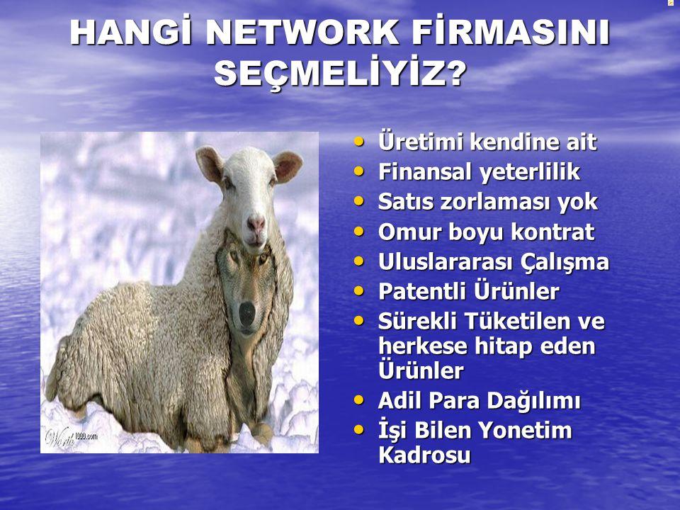 HANGİ NETWORK FİRMASINI SEÇMELİYİZ