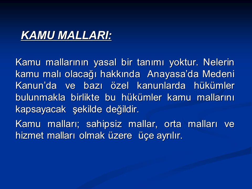 KAMU MALLARI: