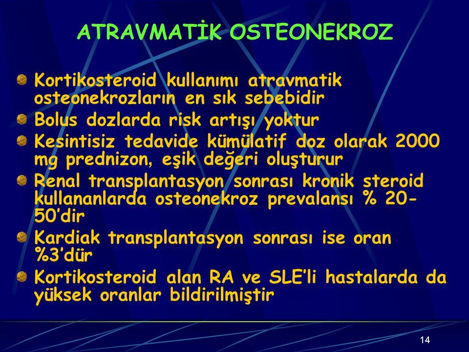 ATRAVMATİK OSTEONEKROZ