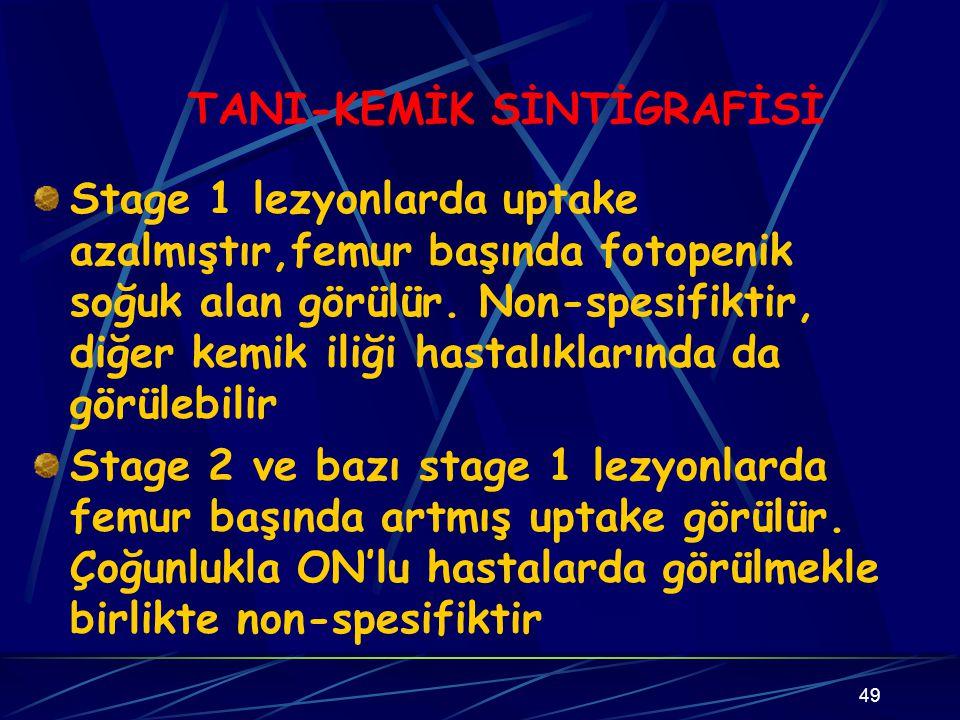TANI-KEMİK SİNTİGRAFİSİ