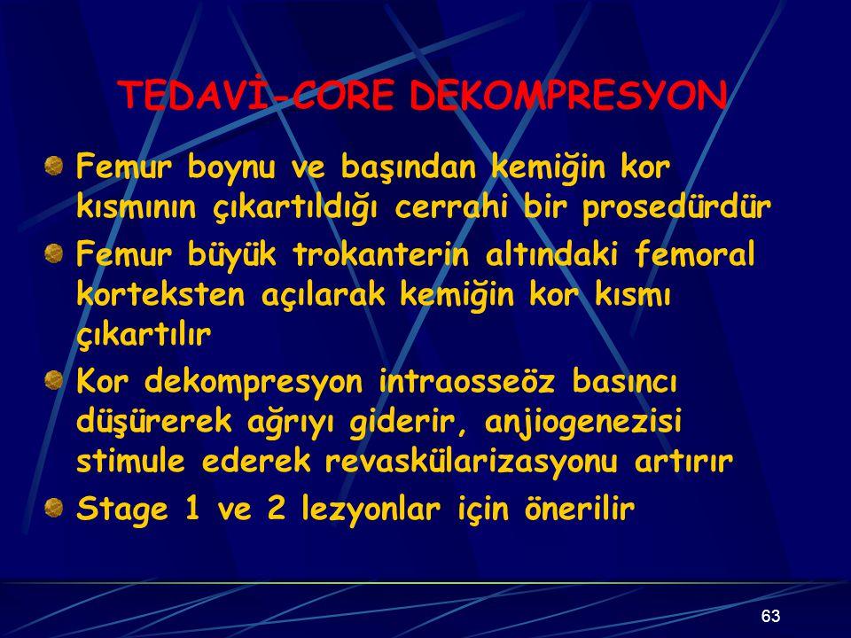 TEDAVİ-CORE DEKOMPRESYON