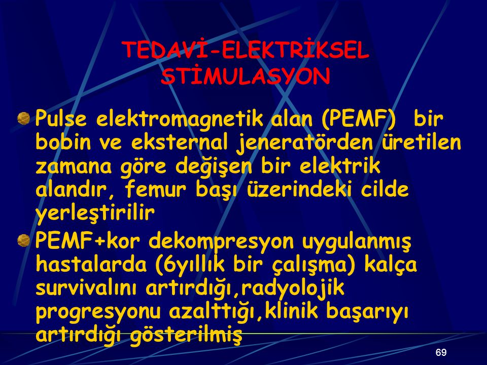 TEDAVİ-ELEKTRİKSEL STİMULASYON