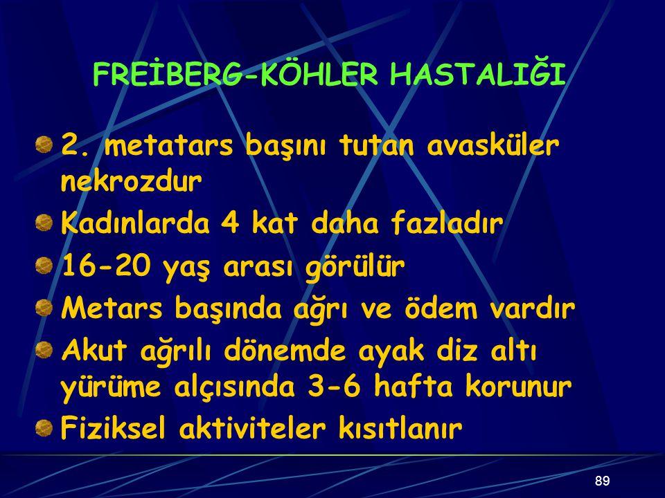 FREİBERG-KÖHLER HASTALIĞI
