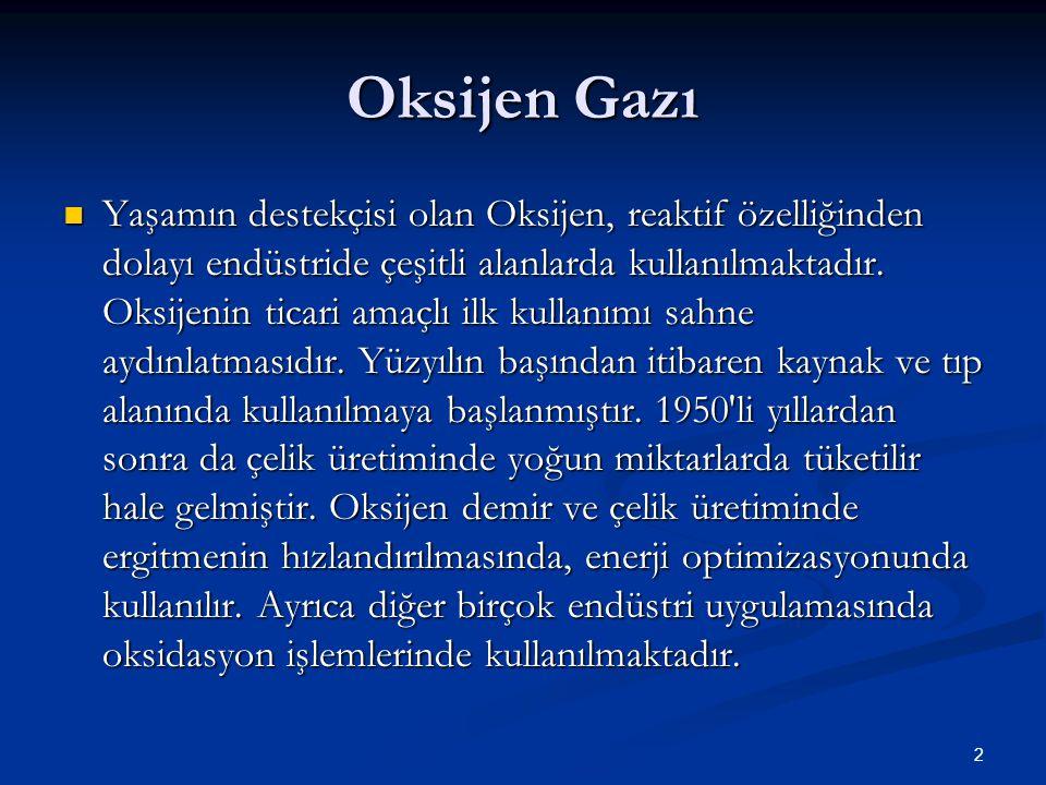 Oksijen Gazı