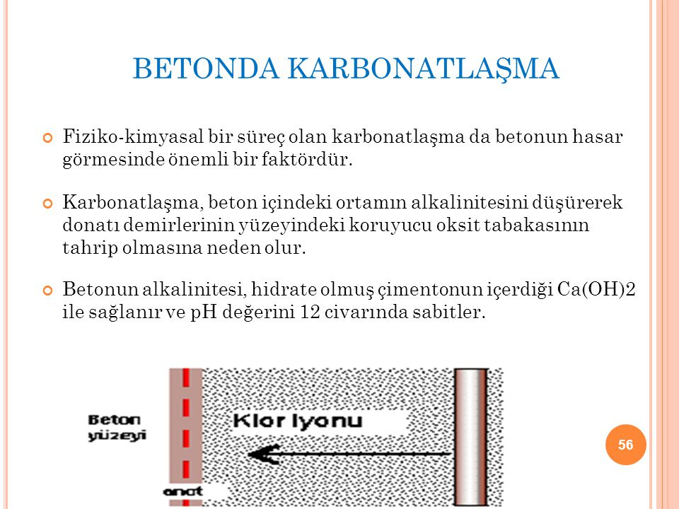 BETONDA KARBONATLAŞMA