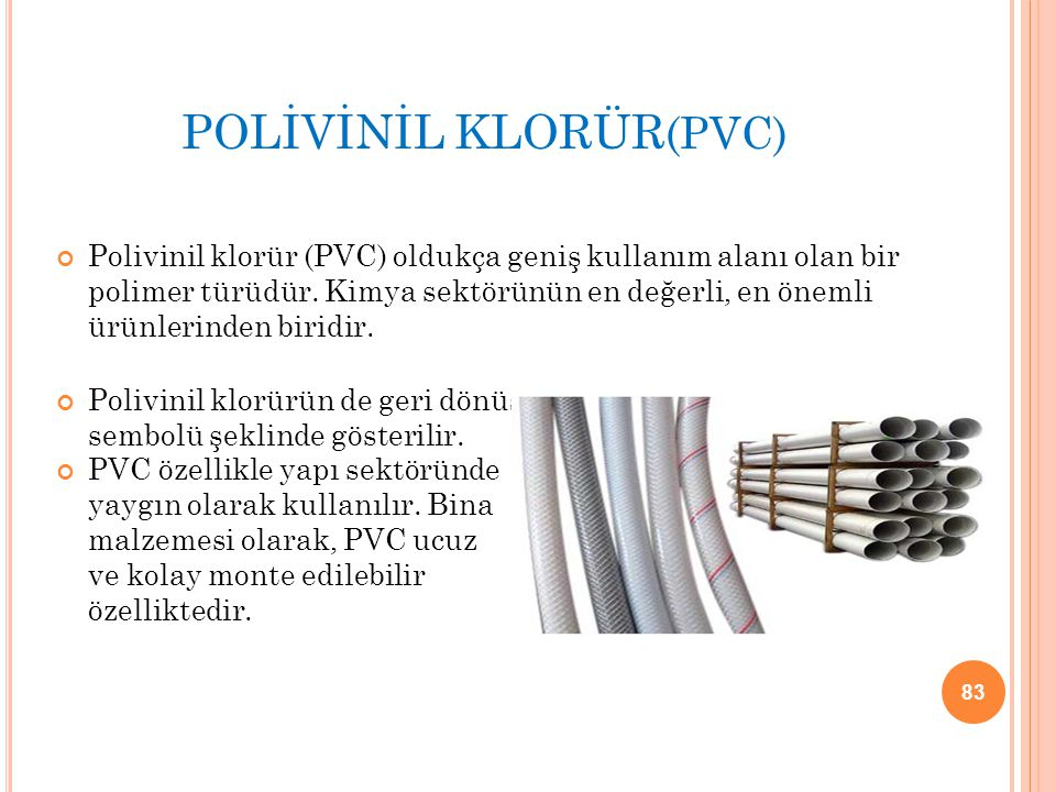 POLİVİNİL KLORÜR(PVC)