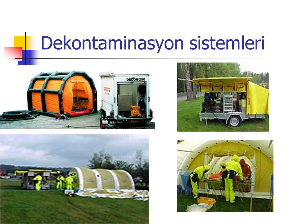 Dekontaminasyon sistemleri