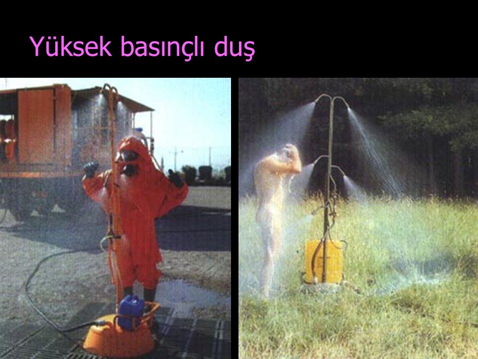 Yüksek basınçlı duş