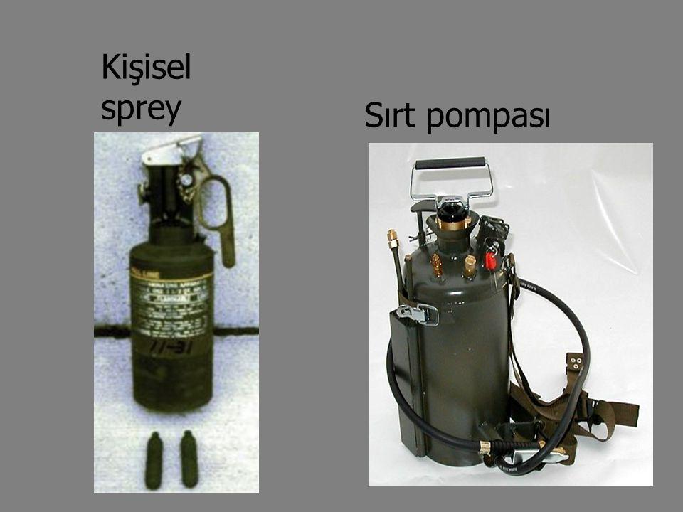 Kişisel sprey Sırt pompası