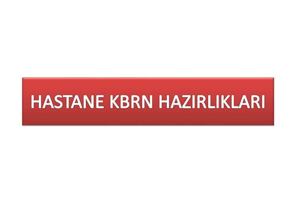 HASTANE KBRN HAZIRLIKLARI