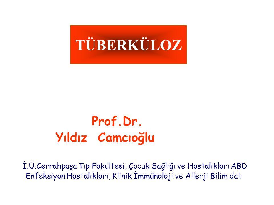 TÜBERKÜLOZ Yıldız Camcıoğlu Prof.Dr.