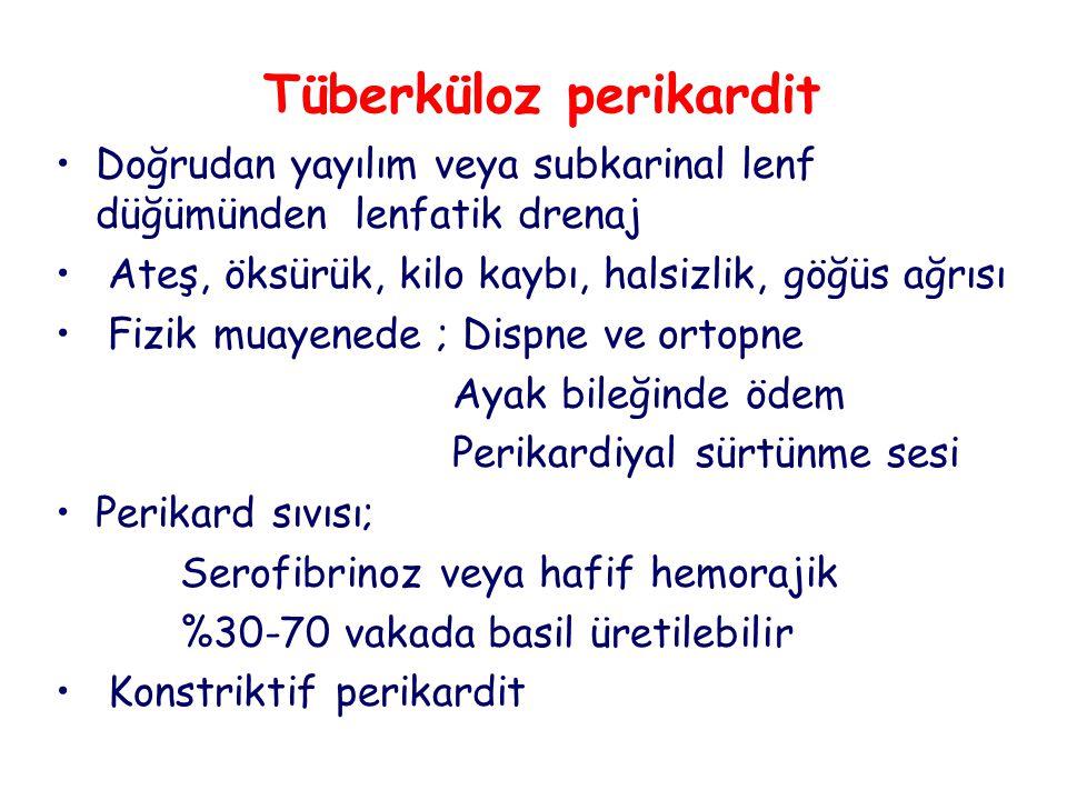 Tüberküloz perikardit