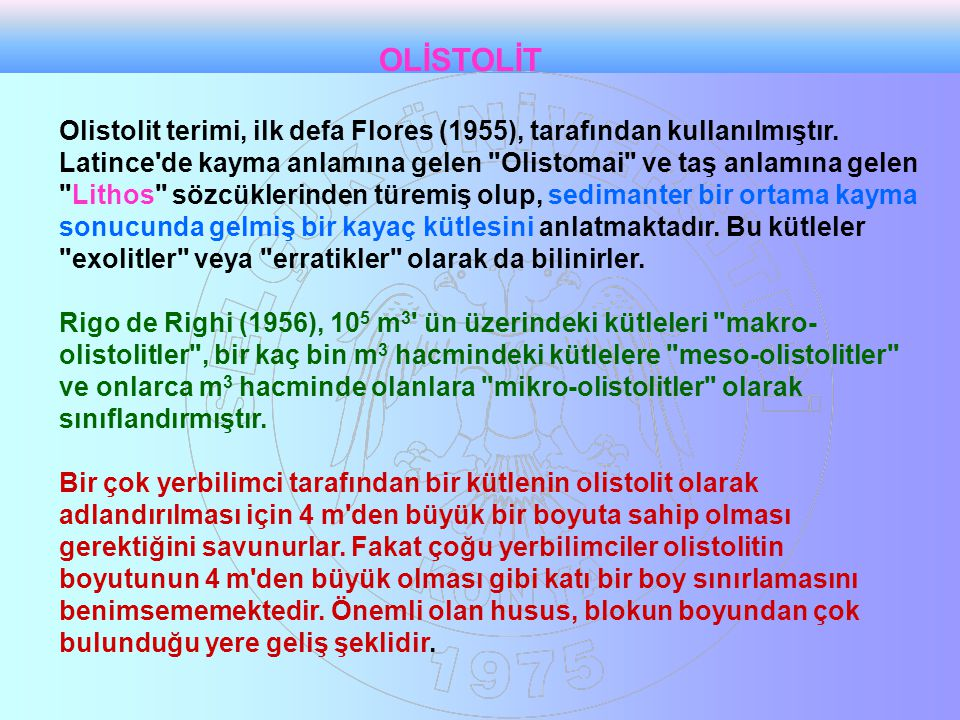 OLİSTOLİT