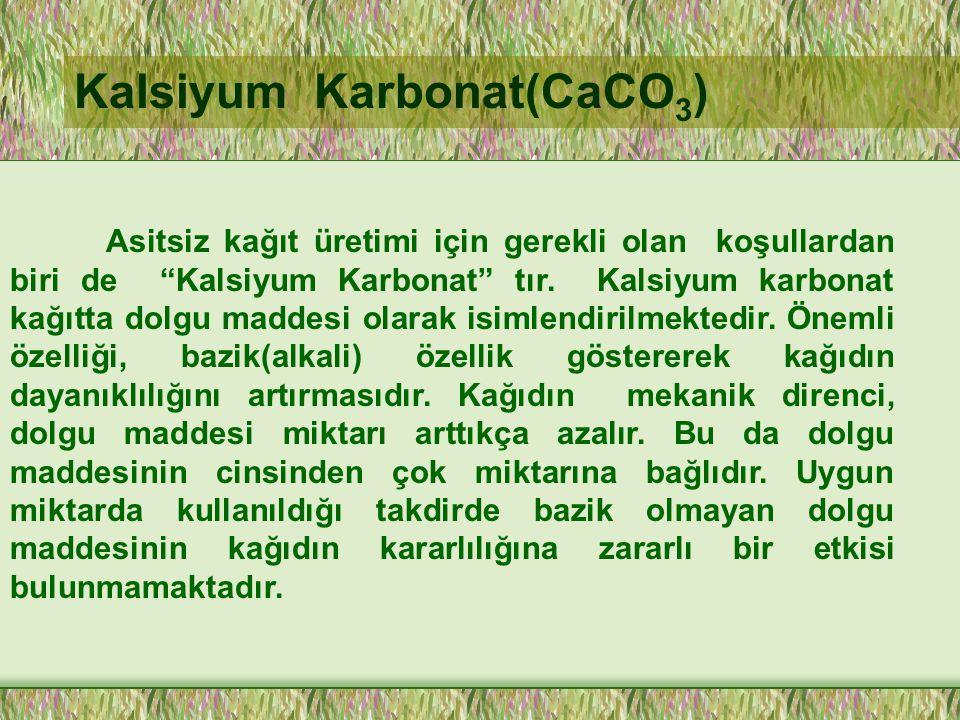 Kalsiyum Karbonat(CaCO3)
