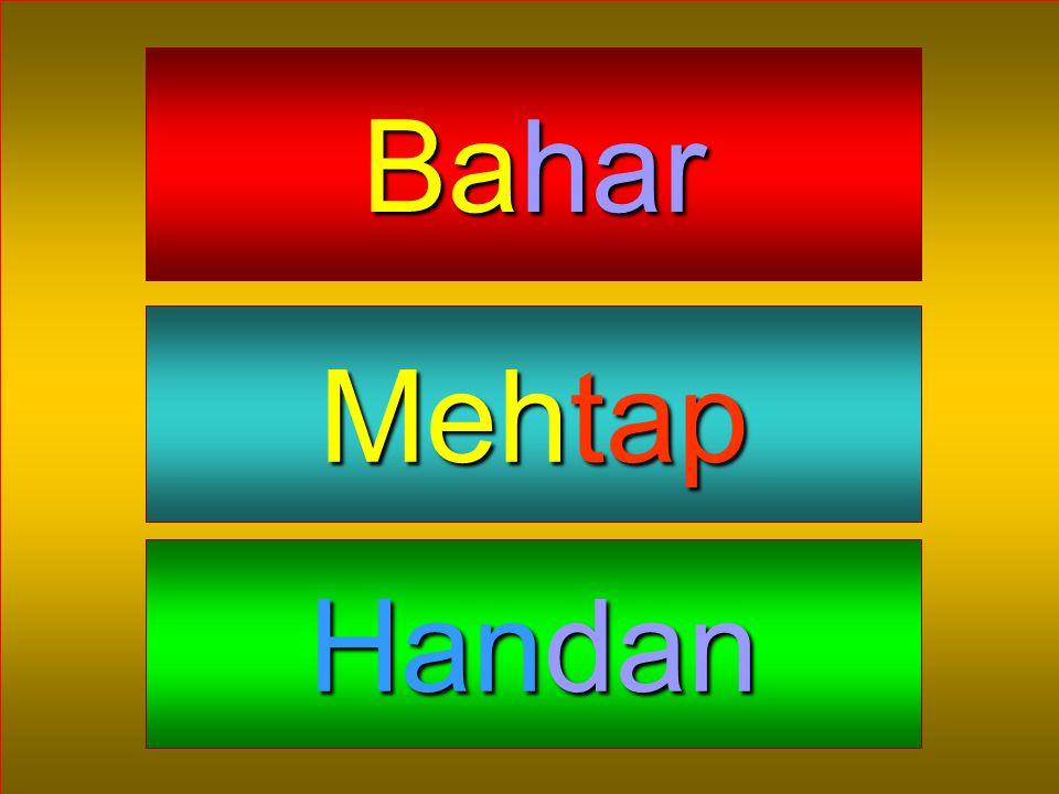 Bahar Mehtap Handan